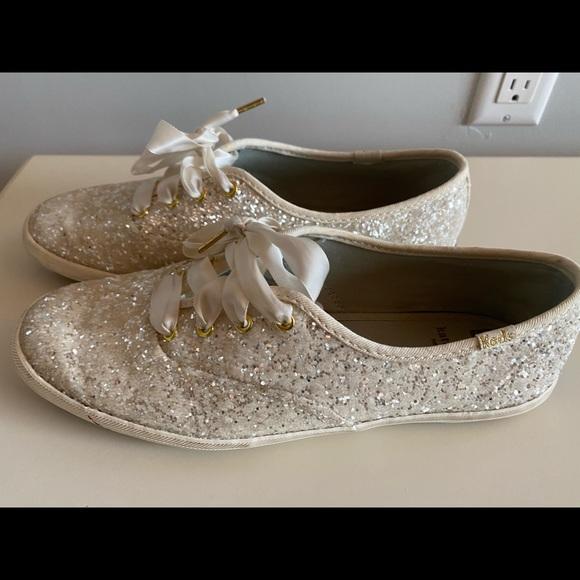 Kate Spade Bridal Tennis Shoes